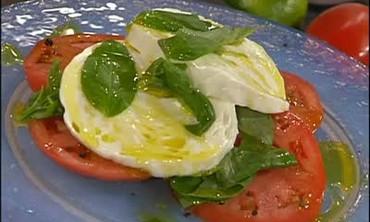 Swordfish Puttanesca and Caprese Salad Part 1