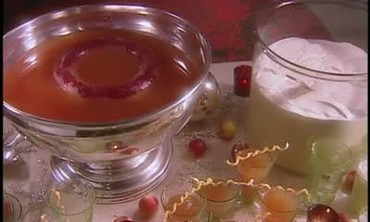 Blood Orange Pomegranate Punch and Hot Wassail