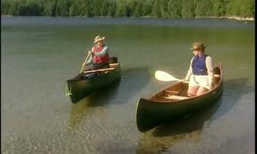 Canoeing 101 with Bob Myron and Martha Stewart
