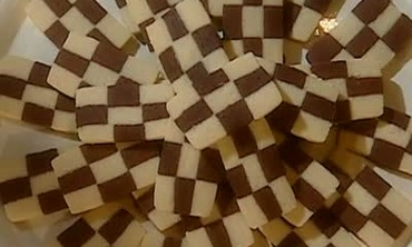Cookie of the Week: Icebox Checkerboard Cookies