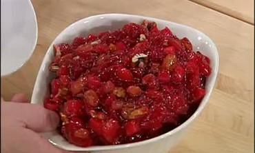 Cranberry Compote and Green Bean Relish Part 2