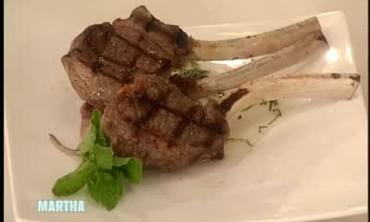 Eli Tahari's Grilled Lamb Chops and Mint Recipe