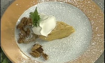 Emeril's Pumpkin Chiffon Pie for Thanksgiving