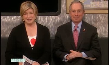End of New York City Show with Mayor Bloomberg