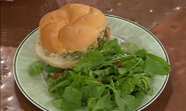 Grilled Chicken Salad with Homemade Mayonnaise