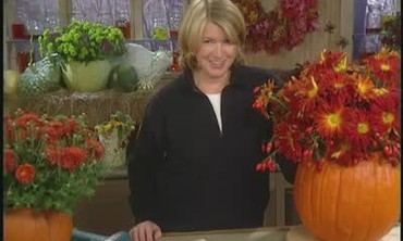 How To Make Pumpkin Planters and Center Pieces