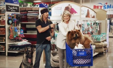 Martha Stewart and Bret Michaels TV Commercial