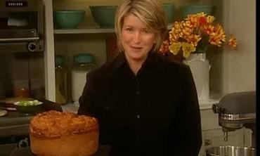 Martha Stewart Prepares Ukrainian Easter Bread