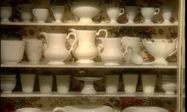 Martha Stuart Transforms a Cabinet with Fabric