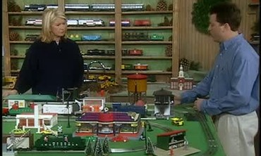 Michael Fiore Introduces his Vintage Train Set