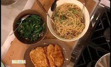 Paul Sorvino's Spaghetti with Pancetta and Peas