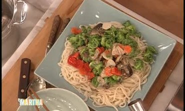 Phillipe Chow's Green Prawns and Noodles, Part 2