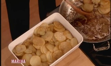 Potatoes a la Boulangere with Emeril Lagasse