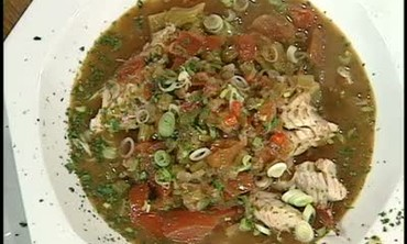 Red Mullet and Vegetable Court Bouillon Recipe