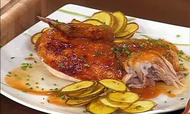 Roasted Chicken with Guava Glaze Recipe Part 2