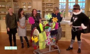 Watch More Videos From Halloween Costume Ideas & Video: Superhero Costume Made from Dollar Store Items | Martha Stewart