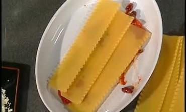Vegetable Lasagna with Puttanesca Sauce Part 1