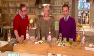 Basil Lillet Slush and Sparkling Grape Cocktail