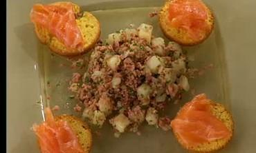 BBQ Salmon Gravlax and Warm Potato Salad Part 2