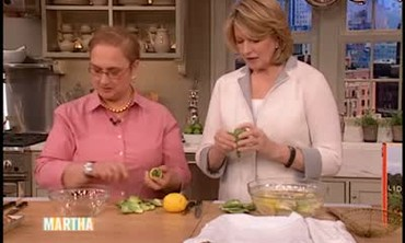 Chef Bastianich's Chicken with Artichokes, Part 1