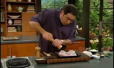Emeril Grills Grouper with Mango Habanero Sauce