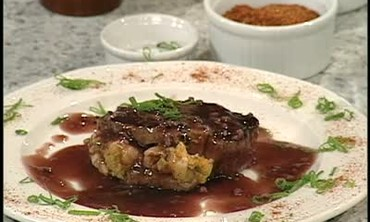 Filet Mignon Surf and Turf with Shrimp Stuffing