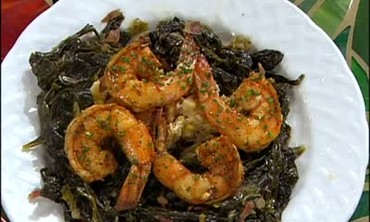 Food of Love: Shrimp Tchoupitoulas and Apple Pie