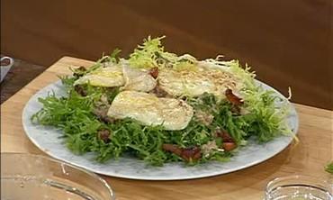 Parisian Cuisine - Ratatouille and Frieze Salad