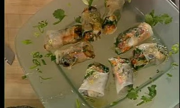 Spicy Shrimp Spring Rolls with Nuoc Chom Part 3