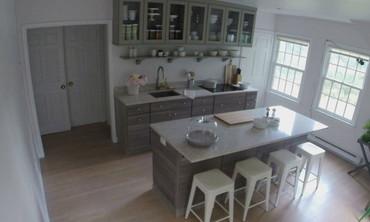 Video: Time-Lapse: Martha\'s Maple Avenue Kitchen Remodel | Martha ...