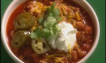 A Healthy Recipe for Turkey and Pinto Bean Chili