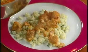 Chicken Paprika with Herb Spaetzle Recipe Part 3