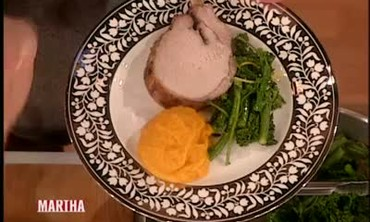 Crown Roast Pork with Winter Squash Puree, Part 2