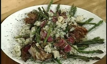 Easy Recipe for Asparagus Salad with Vinaigrette