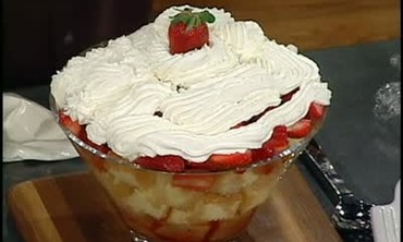 Emeril's Lagasse's Recipe for Strawberry Shortcake