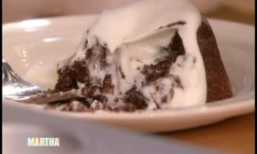 Gooey Molten Chocolate Cake with Meredith Vieira