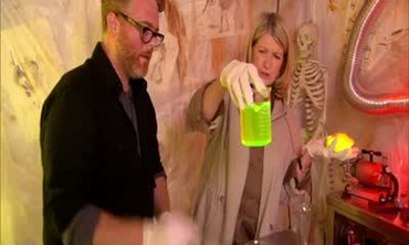 Haunted House Shanty Room and Mad Scientist's Lab