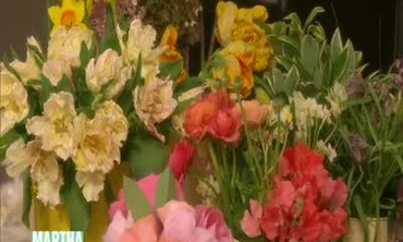 How to Create a Lovely Floral Easter Centerpiece