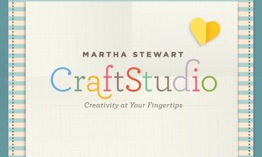 Introducing the Martha Stewart CraftStudio App