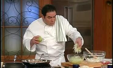 Seafood Chimichanga With Guacamole Recipe Part 1