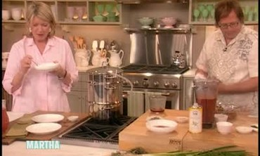 Strawberry Gazpacho Recipe with Chef David Kinch