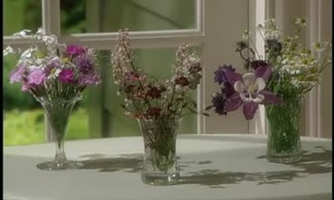 Tiny Flower Arrangements from the Cutting Garden