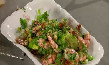 Vietnamese Grilled Shrimp with Lime and Cilantro