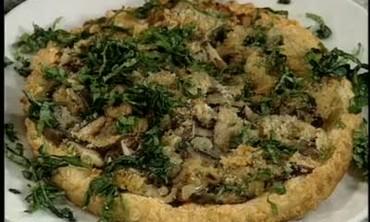 Wild Mushrooms and Caramelized Onion Tart Recipe