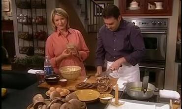 Chef Ed Brown Shares a Portobello Mushroom Recipe