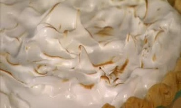 Coconut Cream Pie with a Torched Meringue Topping