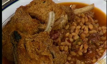 Creole Crusted Pork Chops with Dirty Beans Part 2