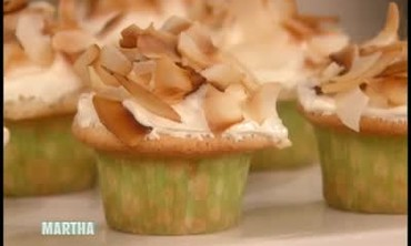 Fresh Coconut Cupcakes with Seven-Minute Frosting