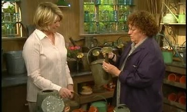 History and Presentation of Antique Watering Cans