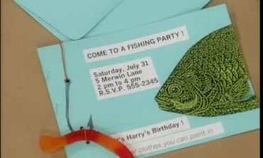 How to Make a Personalized Fish-Themed Invitation